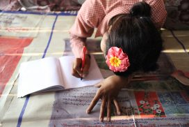 Turning the tide against child labour – for Khin's sake