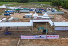 Ayeyarwady Foundation builds COVID-19 test centre in Taikkyi