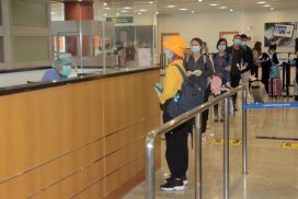 169 Myanmar citizens  fly back home from Malaysia on 10 October