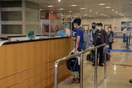 107 Myanmar nationals return home by relief flight