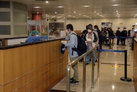 Myanmar nationals return home from foreign countries