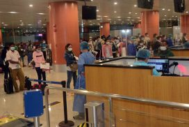 Myanmar brings 119 citizens back home in coordination with Malaysia