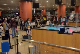 Myanmar nationals, seamen fly back home from Japan, ROK by relief flights