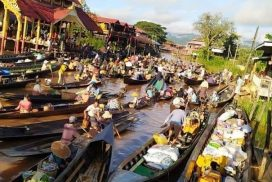 Locals revive Inn Lay floating market in October