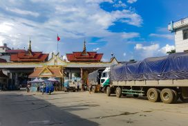 China raises driver substitution charges through Mang Weing border crossing