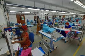 Aung Myin Hmu, EU Myan Ku Fund to train over 400 lay-off garment factory workers