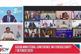 Deputy Minister U Thar Oo joins cybersecurity, cyber week events online