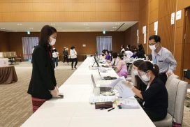 Advance voting of Myanmar citizens continues in Bangkok, Tokyo, Singapore