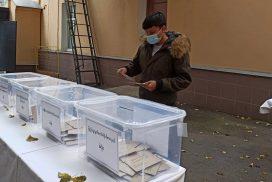 Myanmar citizens in Thailand, Japan, Russia cast advance votes