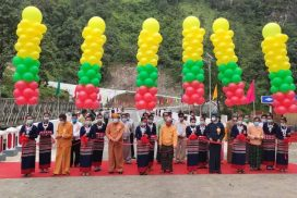 New Goktwin bridge inaugurated in northern Shan State