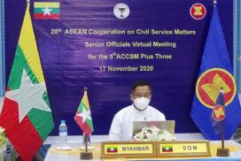 20th ACCSM,  5th ACCSM Plus Three  meetings held via videoconferencing