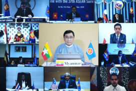 Union Minister Dr Win Myat Aye attends ASEAN Youth Conference