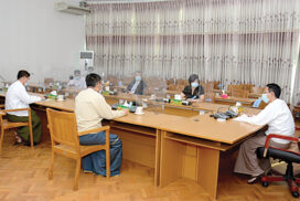 MoALI holds meeting with FAO for agricultural development in Myanmar