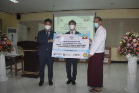 ROK donates 44,000 COVID-19 Antigen Test kits to Myanmar