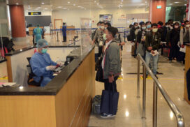 Myanmar seamen, nationals fly back home from Hong Kong, Malaysia