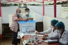 Visually-impaired voters cast ballots in 2020 General Election