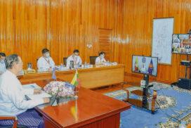 Union Minister U Win Khaing attends 38th AMEM, associated meetings