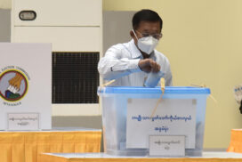 Tatmadaw members, families cast votes for 2020 General Election
