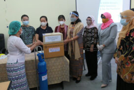 MAWFA, Nay Oke Foundation donate COVID-19 medical supplies for hospitals