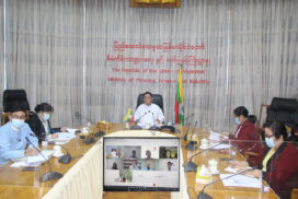 MoPFI Deputy Minister holds virtual meeting with AMRO Mission chief