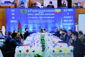 Myanmar, Bangladesh discuss drug control measures