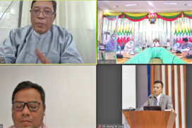 MoEA organizes meeting on Myanmar Ethnic Culture Festival 2021