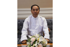 2021 New Year Message from Vice-President U Myint Swe