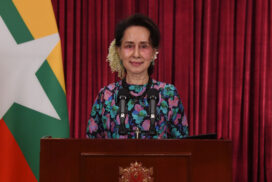 State Counsellor Daw Aung San Suu Kyi's video speech at groundbreaking ceremony for Korea-Myanmar Industrial Complex (KMIC)
