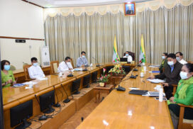 Union Minister Dr Than Myint joins Partnership Summit 2020