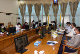 Myanmar avocado association holds general assembly virtually