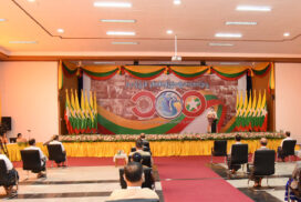 100th Anniversary of National Victory Day celebrations held in Nay Pyi Taw