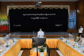 """Social protection works help poverty alleviation and human resources development"" – VP U Myint Swe"