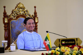 President U Win Myint participates in 9th Ayeyawady-Chao Phraya-Mekong Economic Cooperation Strategy (ACMECS) Summit and 10th Cambodia-Laos-Myanmar-Viet Nam Cooperation (CLMV) Summit via videoconference