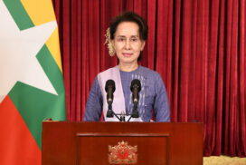 State Counsellor gives advice,  guidance on measures against COVID-19