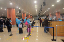 95 Myanmar citizens abroad arrive back home by relief flight