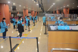 Myanmar citizens brought back home  from ROK by relief flights