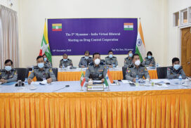 Myanmar, India to boost cooperation in drug control