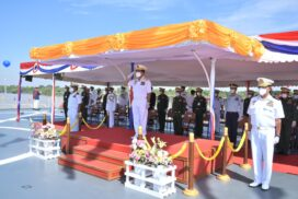 Tatmadaw (Navy) holds 73rd Anniversary with warships' commissioning ceremony
