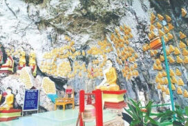 Hpa-Baung cave in Mon State attracts more visitors