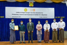 UNFPA delivers 40,000 Ag Test Kits to support prevention, response to COVID-19 pandemic