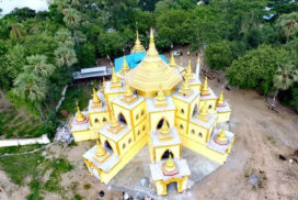 Significant pagoda features artworks of Bagan era in Pakokku Township