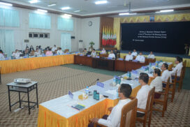 Myanmar's third-cycle report on human rights issue reviewed at 37th session of UPR