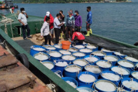 Prawn farms in Kawthoung maintain export  to Thailand amidst pandemic
