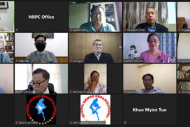 Union Gov't, NCA Signatory EAOs organize informal meeting virtually
