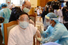 MPs vaccinated against COVID-19 before Hluttaw session