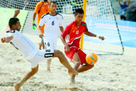 Beach soccer game to be added in 31st SEA Games