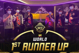 M2 World Championship: Burmese Ghouls bag 1st Runner Up with 3-4 loss to Bren Esports