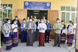 VMS control sub-centre inaugurated in Rakhine State on 3 January