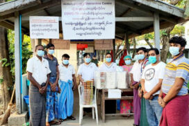 Hindu well-wishers donate 570 rice boxes to COVID quarantine centres