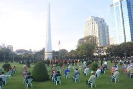 Yangon govt organizes  73rd Independence Day's flag hoisting, saluting ceremonies
